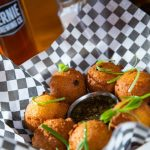 Hushpuppies appetizer from Smokehouse Menu