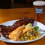 Ribs and Beer at Red Tree Lodge's Smokehouse